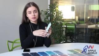 Видеообзор чехлы Silicone Case для iPhone 6, 6+, 6S, 6S+, 7, 7+