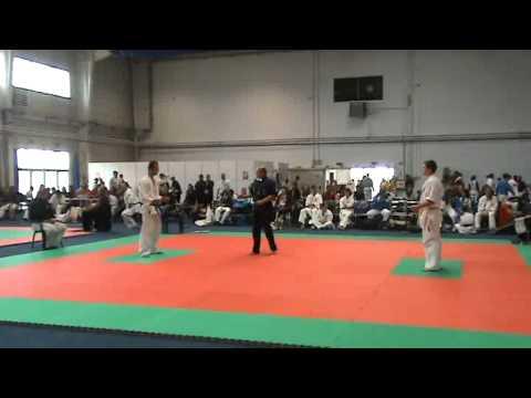 Campionatul National Kyokushin Arad - Margithazi Zsolt Cau Marius