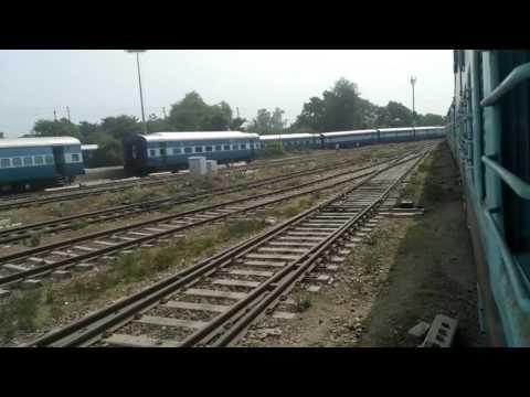 Departure from Faizabad jn