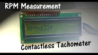 Contactless tachometer using Arduino and IR sensor