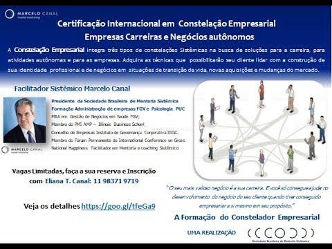 Workshop e Certificação em Constelação Organizacional Carreira e empresa.