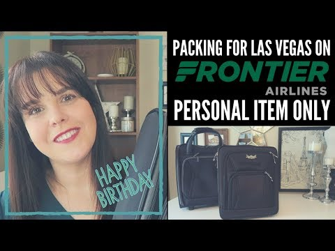 Pack With Me For My Birthday Trip To Las Vegas!