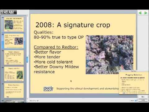Introduction to Organic On-Farm Plant Breeding Workshop