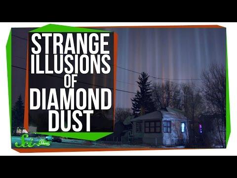 The Strange Effects of Diamond Dust
