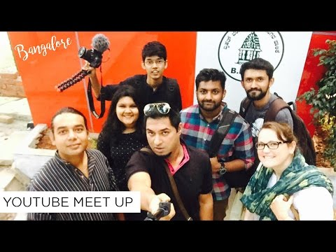 Bangalore YouTube MeetUp + Street Food | Sonia Nicolson