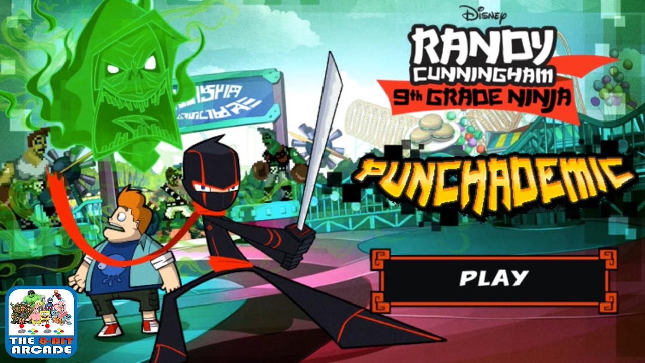 Randy Cunningham: 9th Grade Ninja - PUNCHADEMIC (Disney Games)