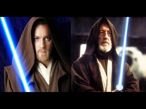 Ewan McGregor spot on Alec Guinness mannerisms as Obi-Wan