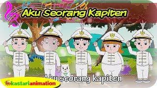 AKU SEORANG KAPITEN   Lagu Anak Kartun bersama Diva   Kastari Animation Official