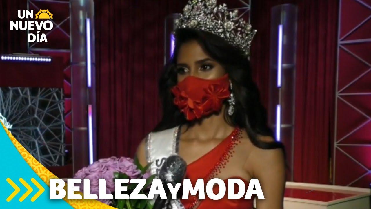 Máscaras de satín: nuevo normal en concursos de belleza | Un Nuevo Día | Telemundo
