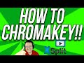 How To Chroma Key In XSplit (How To Use A Green Screen W/ XSplit!!)