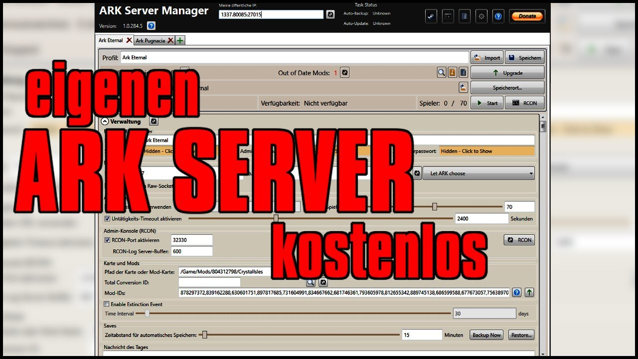 Don't starve together dedicated server not showing l