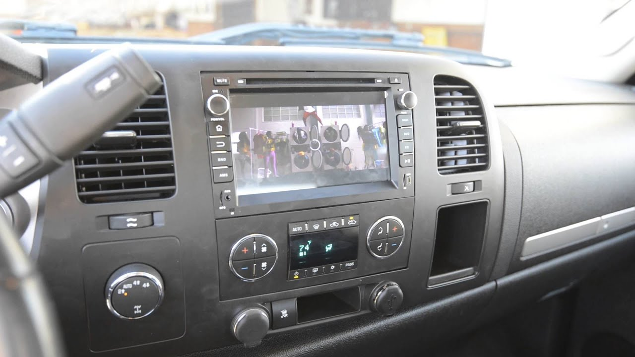 GA5180F Eonon DVD GPS Head Unit 2010 Silverado