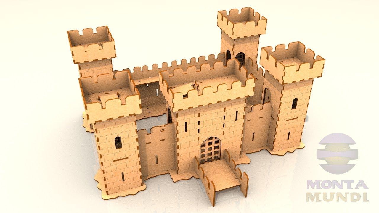 Monta Mundi Castelo Medieval 3d Como Montar Youtube