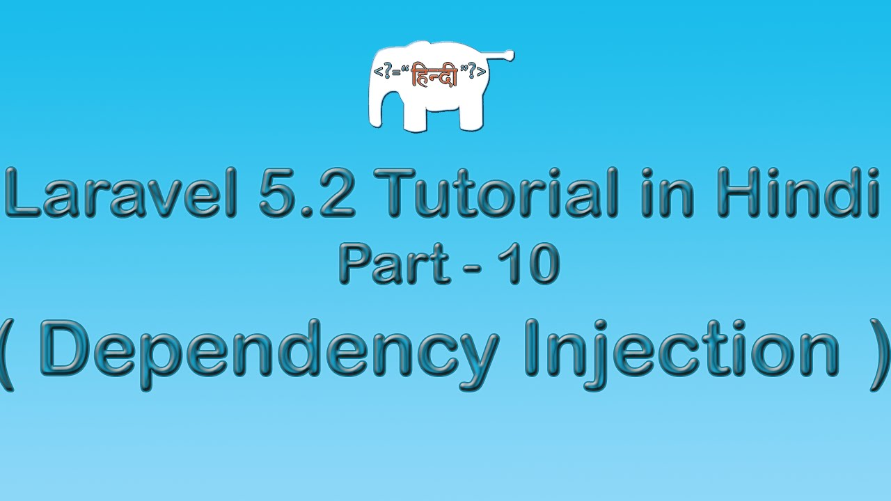 Laravel 5 Tutorial for Beginners in Hindi ( Dependency Injection ) | Part-10