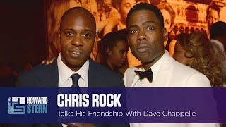 Chris Rock Talks His Friendship With Dave Chappelle