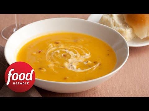 Marcela Valladolid Makes Butternut Squash Soup | Food Network