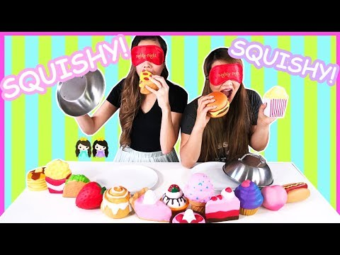 Guess the Squishy Toys Challenge with Princess T and Princess Pham