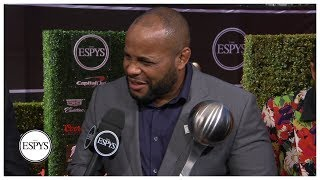 Daniel Cormier wins inaugural ESPY for Best MMA Fighter | 2019 ESPYS