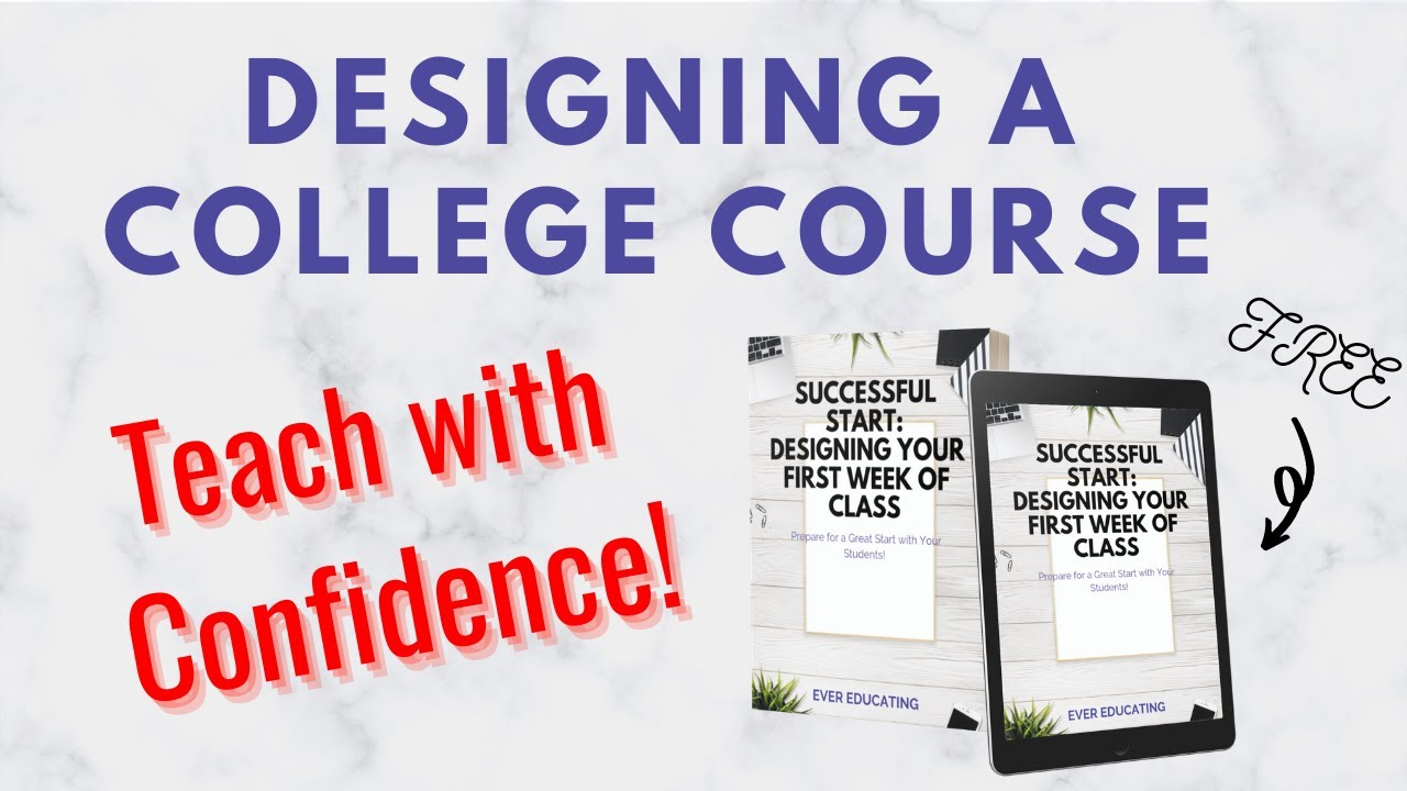 Download Tips For Designing A College Course From Scratch | Successful Start Overview