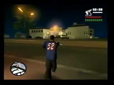 GTA San Andreas 61 mission: Pier 69, kill Ryder