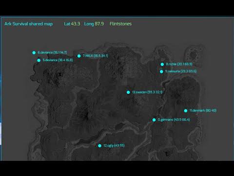 Ark Elevation Map.Redshift Base Mapper Control For Ark Survival Evolved Chrome
