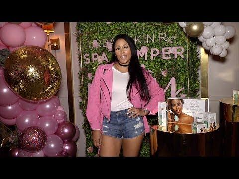 "Shantel Jackson ""Urban Skin Rx: Spa Pamper Party"" Red Carpet"
