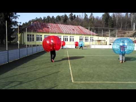 Bubble-futbal spiš