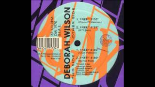 Deborah Wilson - Free (Exposure Mix)