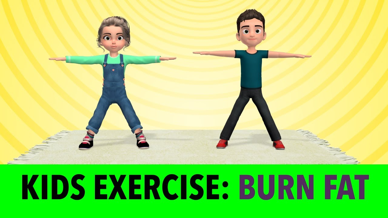 Download Burn Fat At Home: Kids Exercise [16 Min]