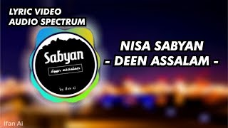 Nisa Sabyan - Deen Assalam Spectrum & Lyric