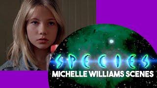 SPECIES (1995): ALL the Michelle Williams scenes