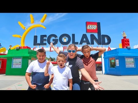 Thumbnail: LEGOLAND Lego Kingdom Theme Park Tour with Carl and Jinger Family!!