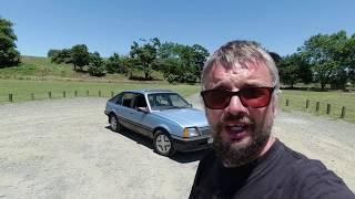 Road Test: Vauxhall Cavalier Mk2 SRi - early UK car in NZ!
