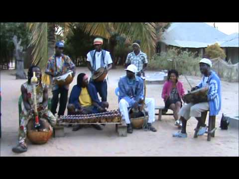 Guinean song with bolon, gongoma and balafon