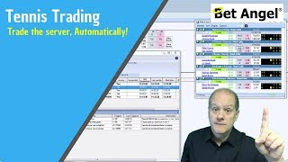 Betfair Tennis trading - Trade the server, Automatically!
