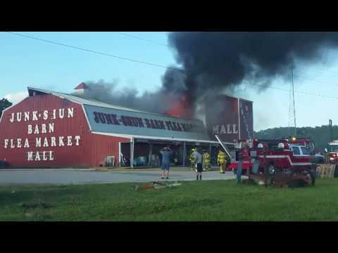 Junk Shun Barn Fire Pt 1
