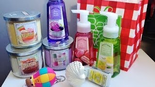 Bath & Body Works ♡ Sweet Shop Spring 2014 Collection Haul!!! Thumbnail