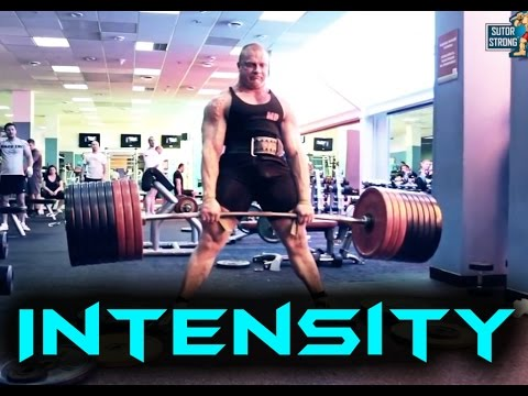 INTENSITY FOR LIFE - Powerlifting Motivation 2014