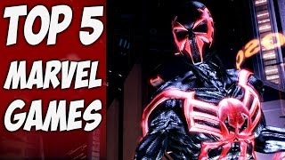 Top 5 Best Marvel Superhero Games (Spider-Man, Wolverine, Marvel Heroes, Dead Pool, Marvel Ultimate)