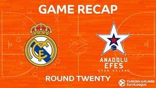 Highlights: Real Madrid - Anadolu Efes Istanbul
