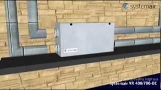 Вентиляционная установка Systemair VR(Обустройство системы принудительной приточно-вытяжной вентиляции за счет вентиляционных установок с..., 2014-03-13T17:49:15.000Z)