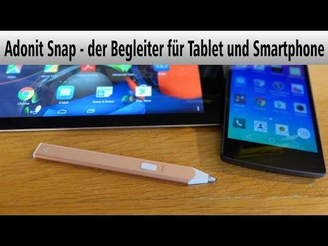Adonit Snap – Der Begleiter Für Tablet Und Smartphone – HIZ108