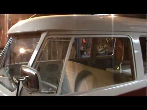 vw bus bumpers and windows,