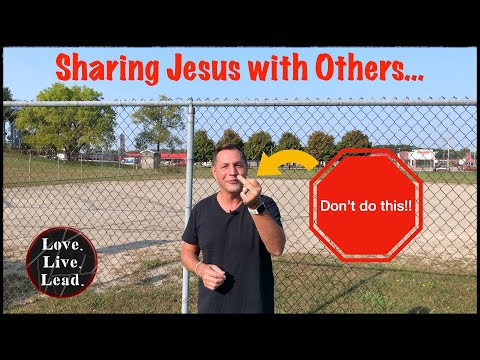 SHARING JESUS - Ep. 7 - Love.Live.Lead.