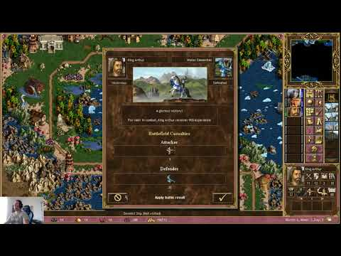 Challenge map Conquest of Heaven and Hell highly rated custom map on impossible 200% part 2