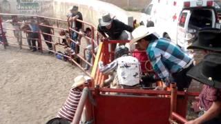 Jaripeo Manuel Doblado con en Toro Negro & Only Music Producciones