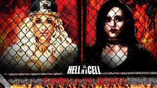 WWE 2K18 HELL IN A CELL MATCH CARMELLA VS JESSICA PPV (PART 3)