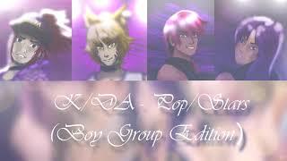 K/DA - Pop/Stars (BOY GROUP EDITION)