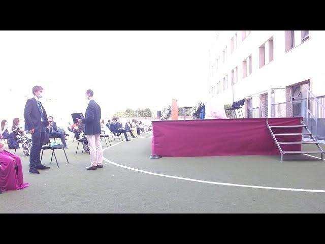 Graduación RMSI 2º Bachillerato 2019 - 2020.