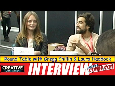 Gregg Chillin & Laura Haddock: Round Table; Da Vinci's Demons on Starz  Creative Continuity